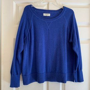 Sonoma Crewneck Sweater Heather Blue Size 1X